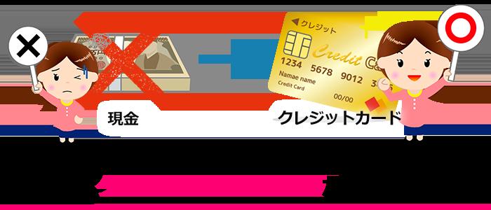 マイルを貯めるのは現金よりもクレジットカード決済がお得!