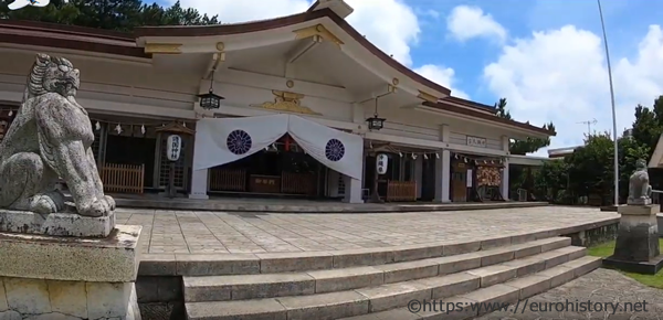 沖縄護国神社本殿