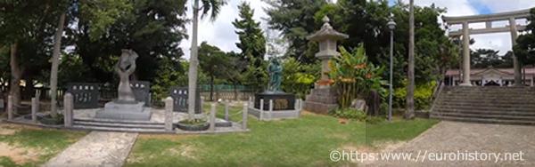 沖縄護国神社境内