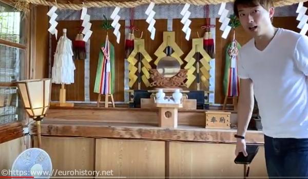 住吉神社、中に入れます